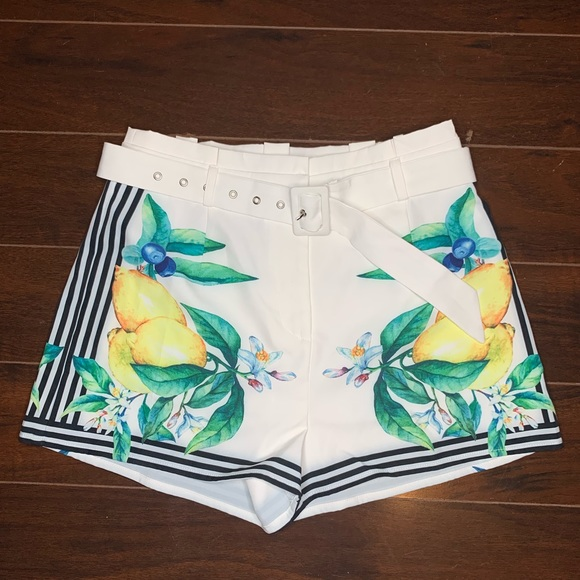 Forever 21 Pants - Forever 21 x A. Peach Graphic Shorts 🍋